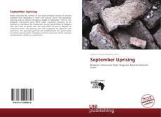 Borítókép a  September Uprising - hoz