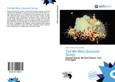 Capa do livro de Tell Me Why (Genesis Song)