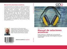 Manual de soluciones acústicas kitap kapağı