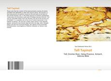 Couverture de Tell Tayinat