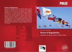 Bookcover of Rome II Regulation