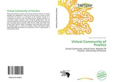 Bookcover of Virtual Community of Practice