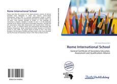 Bookcover of Rome International School