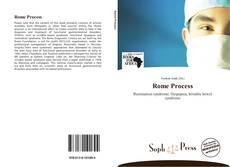 Обложка Rome Process
