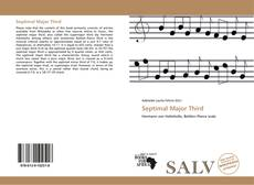 Bookcover of Septimal Major Third