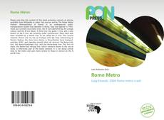 Bookcover of Rome Metro