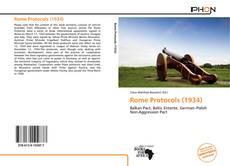 Couverture de Rome Protocols (1934)