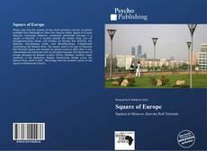 Capa do livro de Square of Europe