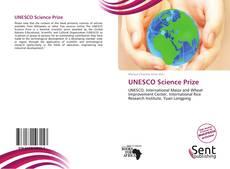 Portada del libro de UNESCO Science Prize
