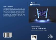 Couverture de Rome at War Series
