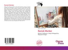 Portada del libro de Romek Marber