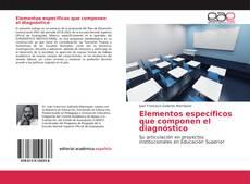 Bookcover of Elementos específicos que componen el diagnóstico