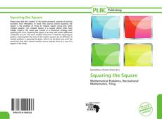 Bookcover of Squaring the Square