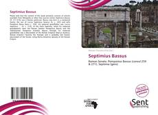 Bookcover of Septimius Bassus