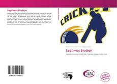 Septimus Brutton kitap kapağı