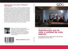 Portada del libro de Satisfacción con la vida y calidad de vida laboral