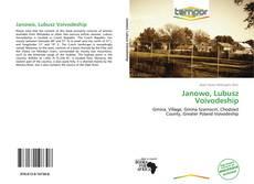 Janowo, Lubusz Voivodeship的封面
