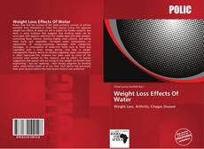 Bookcover of Weight Loss Effects Of Water
