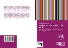 Buchcover von Weight Of The World (The 4400)