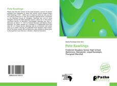 Обложка Pete Rawlings
