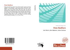 Couverture de Pete Redfern
