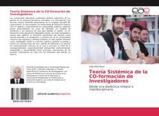 Copertina di Teoría Sistémica de la CO-formación de Investigadores