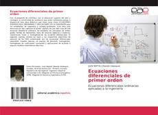 Copertina di Ecuaciones diferenciales de primer orden