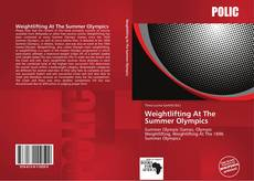 Buchcover von Weightlifting At The Summer Olympics