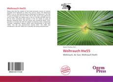 Bookcover of Weihrauch Hw55