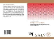 Capa do livro de Weil Der Mensch Zählt