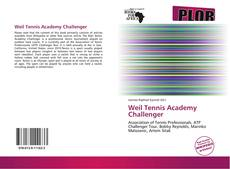 Bookcover of Weil Tennis Academy Challenger
