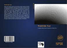 Weil-Felix Test kitap kapağı