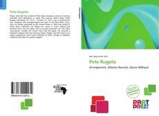 Bookcover of Pete Rugolo