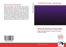Couverture de Weimar National Assembly