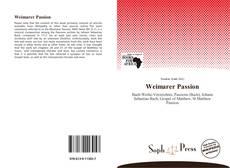 Обложка Weimarer Passion