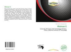Capa do livro de Weinan E