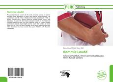 Bookcover of Rommie Loudd
