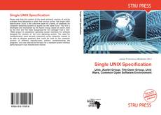 Bookcover of Single UNIX Specification