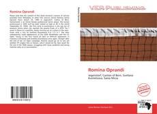 Bookcover of Romina Oprandi