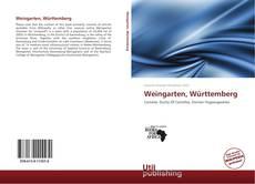 Portada del libro de Weingarten, Württemberg