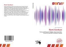Bookcover of Romi Garduce