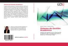 Bookcover of Sistema de Gestión Académica