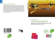 UN (Dan Black Album)的封面