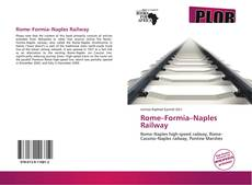 Bookcover of Rome–Formia–Naples Railway