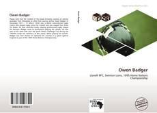 Capa do livro de Owen Badger