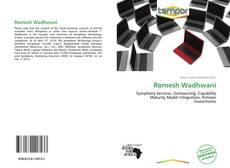 Обложка Romesh Wadhwani