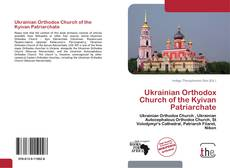 Bookcover of Ukrainian Orthodox Church of the Kyivan Patriarchate