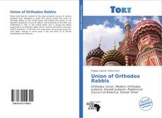 Copertina di Union of Orthodox Rabbis