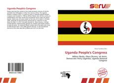 Capa do livro de Uganda People's Congress