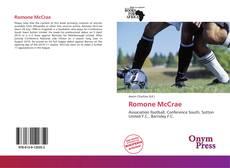 Capa do livro de Romone McCrae